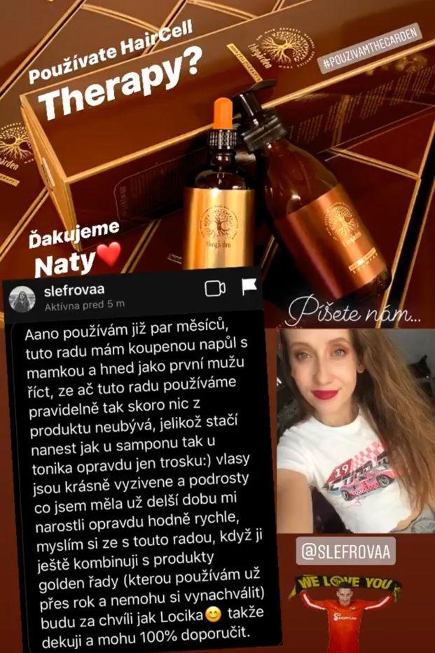 recenzia Hair Cell Therapy - Naty Slefrova IGS